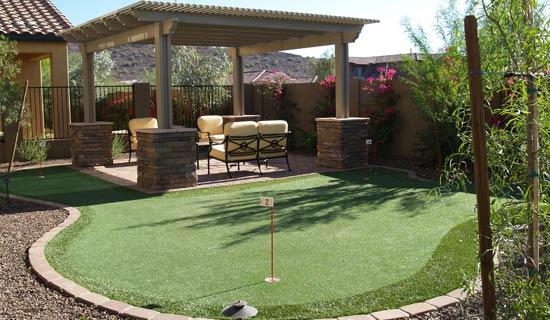 Phoenix Putting Greens Phoenix Golf Greens Backyard